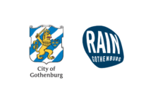 City of Gothenburg + Rain Gothenburg logos