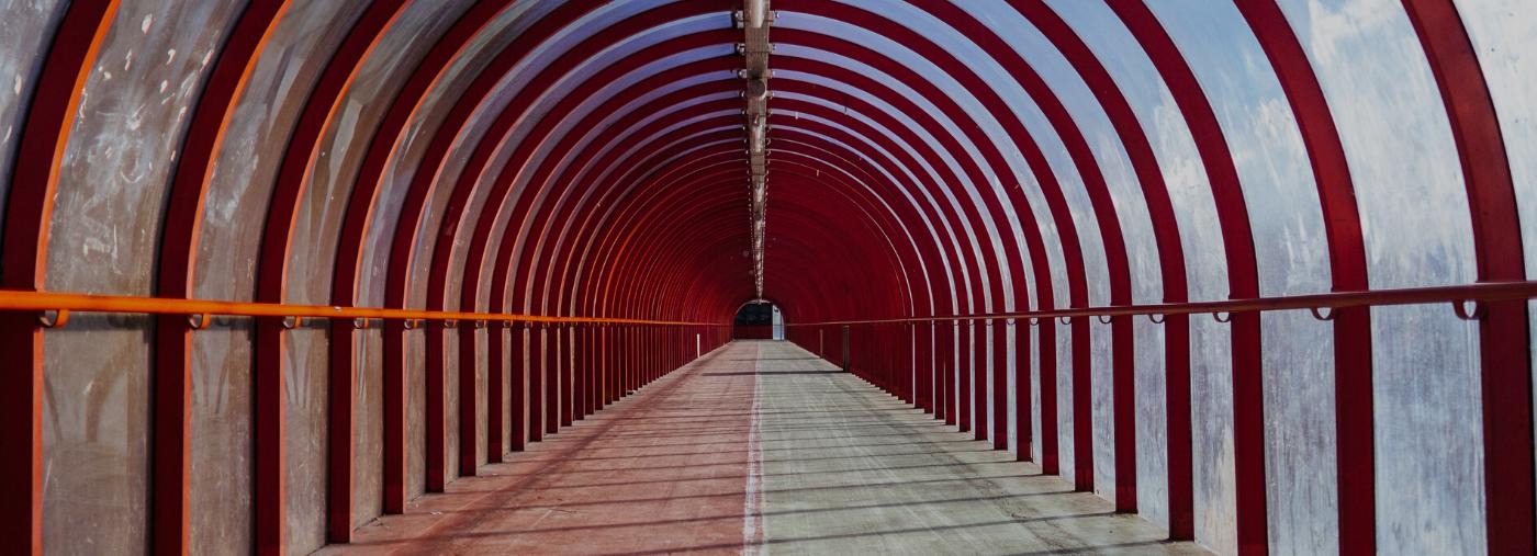 Glasgow SEC walkway